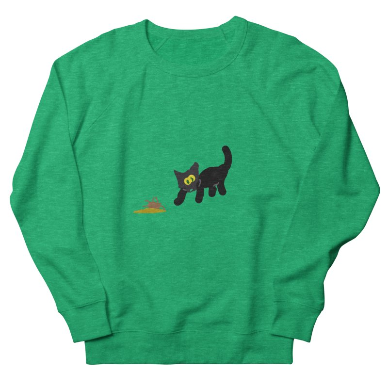 Hairball Apparel & Accessories Men's French Terry Sweatshirt by 2tokens's Artist Shop