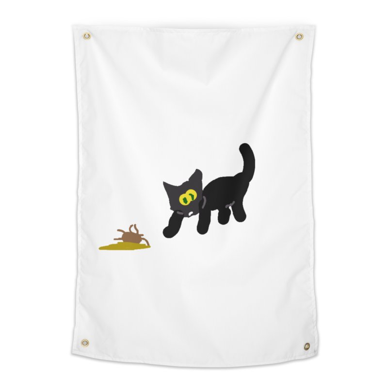 Hairball Apparel & Accessories Home Tapestry by 2tokens's Artist Shop