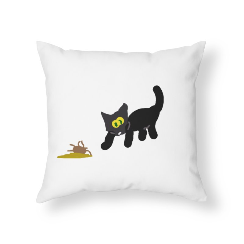 Hairball Apparel & Accessories Home Throw Pillow by 2tokens's Artist Shop