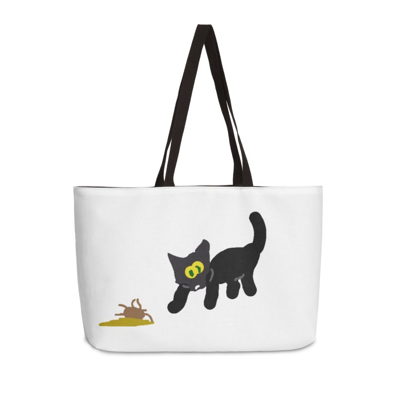 Hairball Apparel & Accessories Accessories Weekender Bag Bag by 2tokens's Artist Shop