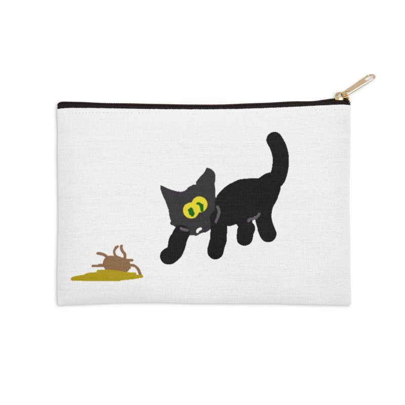 Hairball Apparel & Accessories Accessories Zip Pouch by 2tokens's Artist Shop
