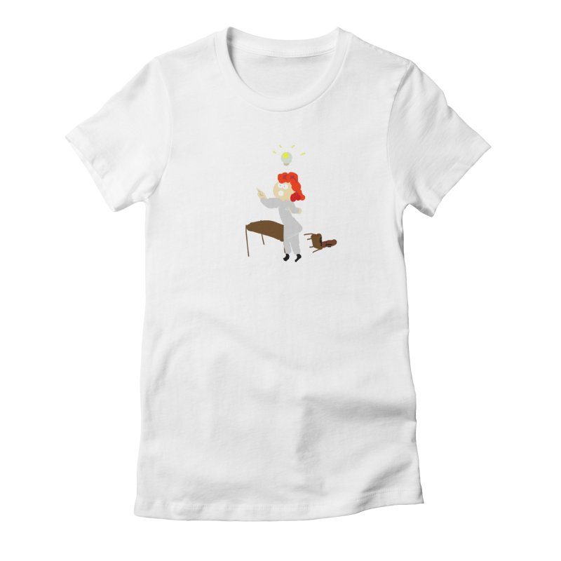 Idea Apparel & Accessories Women's Fitted T-Shirt by 2tokens's Artist Shop
