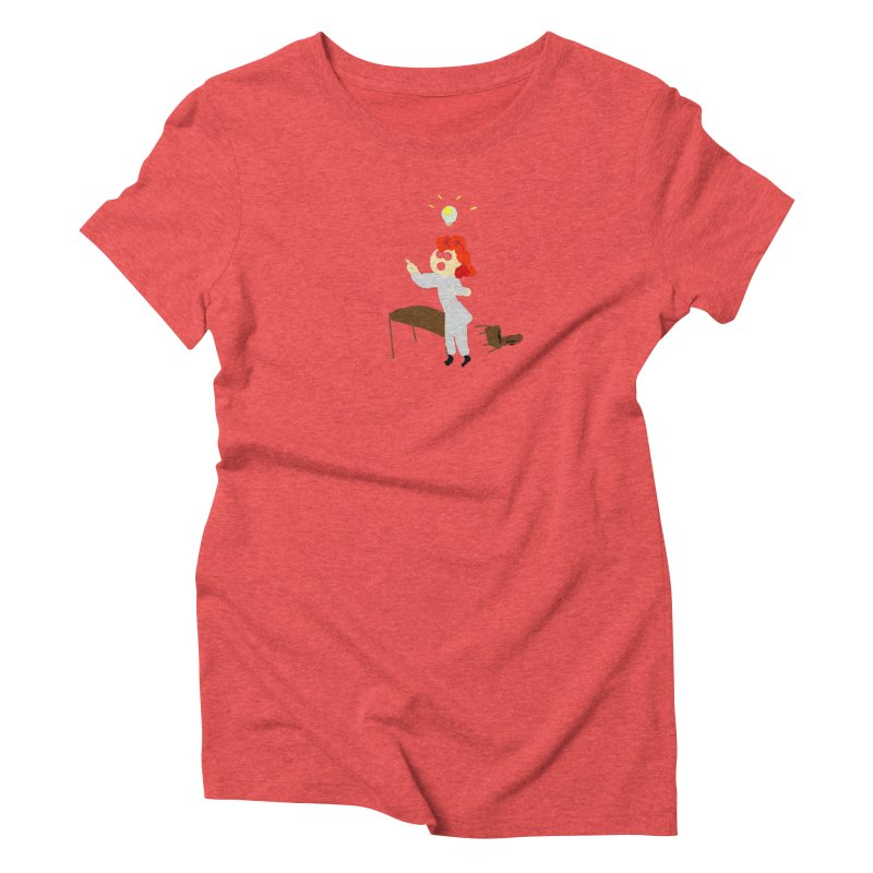 Idea Apparel & Accessories Women's Triblend T-Shirt by 2tokens's Artist Shop