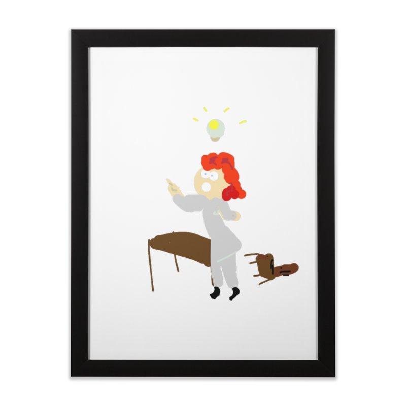 Idea Apparel & Accessories Home Framed Fine Art Print by 2tokens's Artist Shop