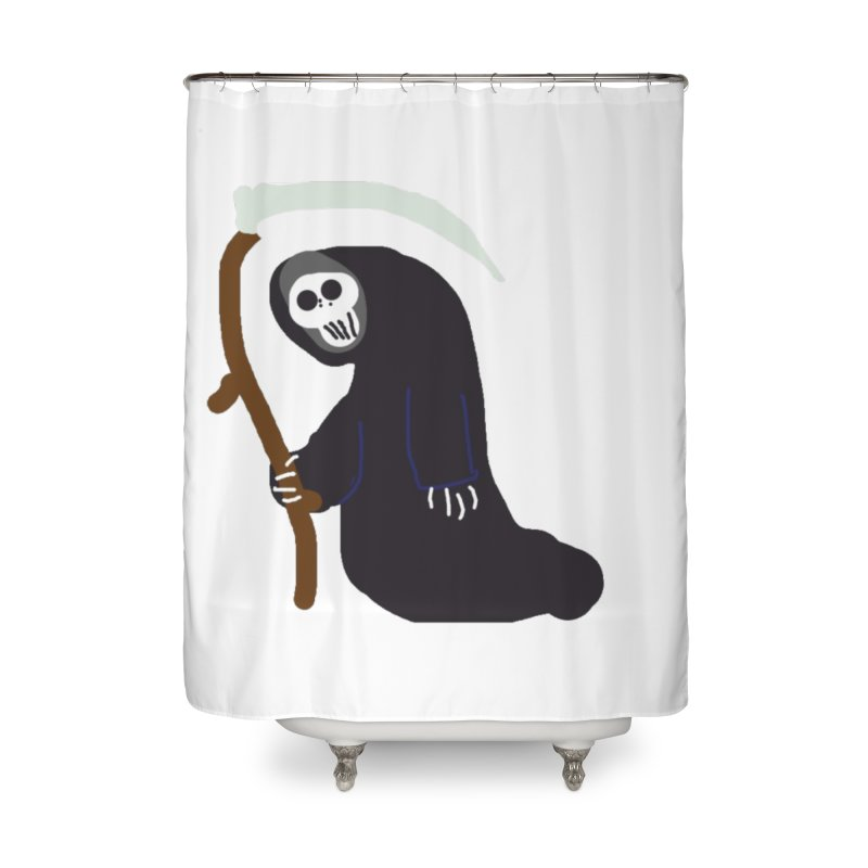 Reaper Apparel & Accessories Home Shower Curtain by 2tokens's Artist Shop