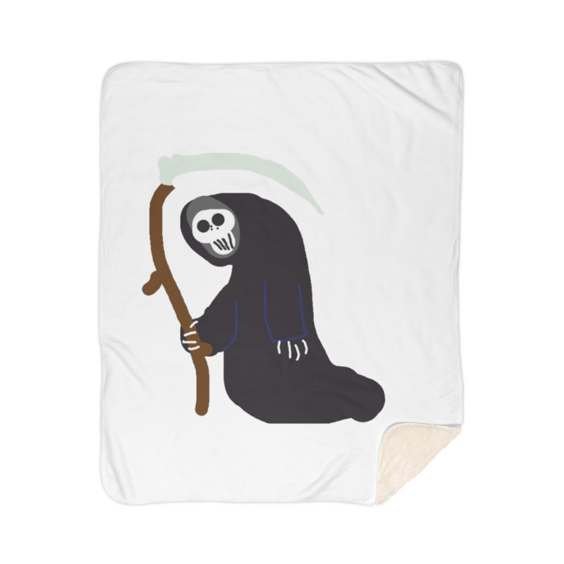 Reaper Apparel & Accessories Home Sherpa Blanket Blanket by 2tokens's Artist Shop