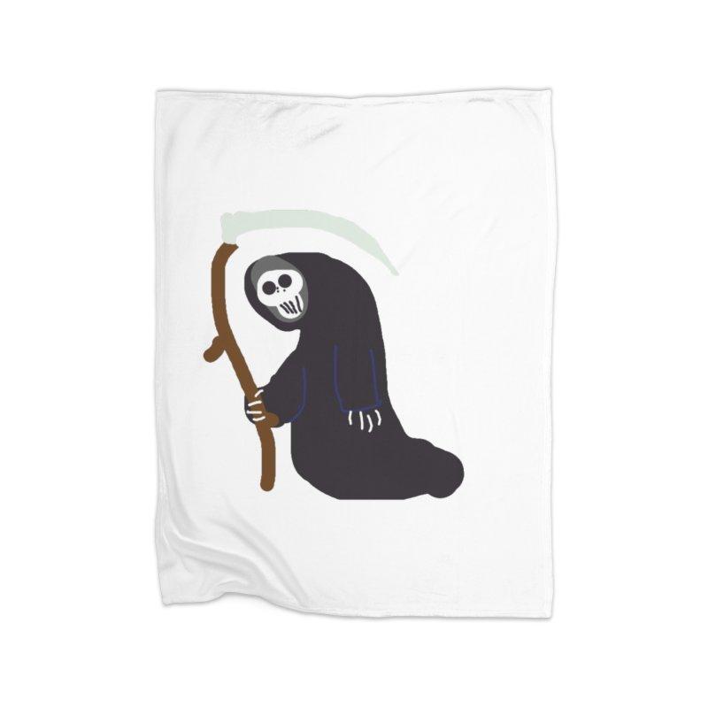 Reaper Apparel & Accessories Home Fleece Blanket Blanket by 2tokens's Artist Shop