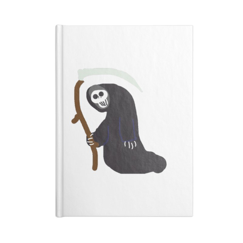Reaper Apparel & Accessories Accessories Lined Journal Notebook by 2tokens's Artist Shop