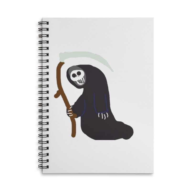Reaper Apparel & Accessories Accessories Lined Spiral Notebook by 2tokens's Artist Shop