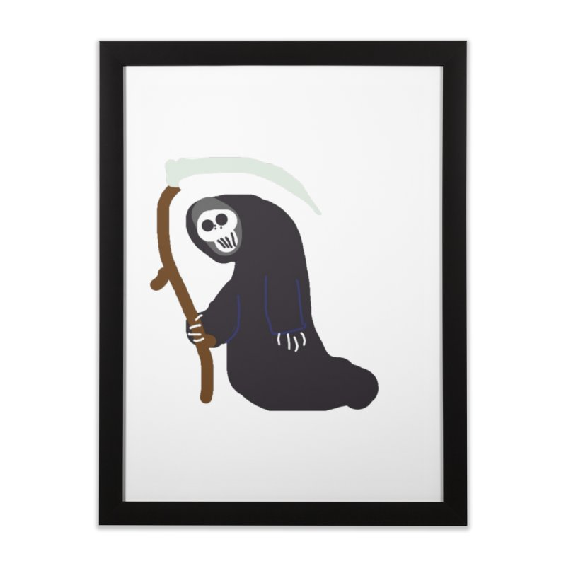 Reaper Apparel & Accessories Home Framed Fine Art Print by 2tokens's Artist Shop