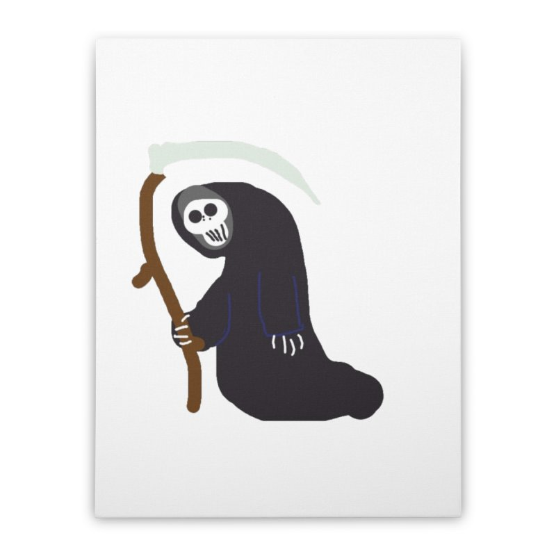 Reaper Apparel & Accessories Home Stretched Canvas by 2tokens's Artist Shop
