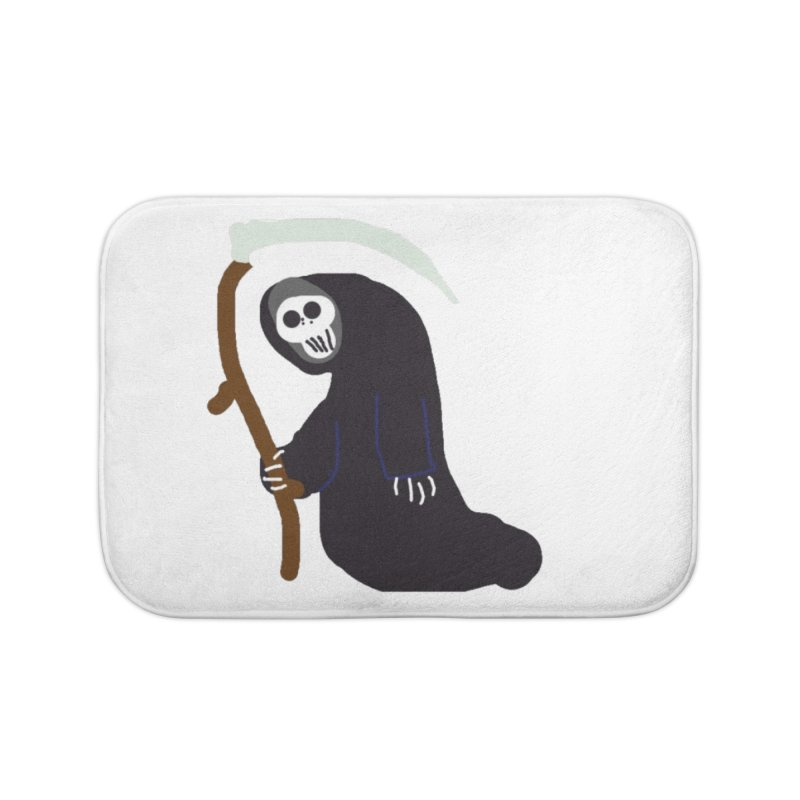 Reaper Apparel & Accessories Home Bath Mat by 2tokens's Artist Shop