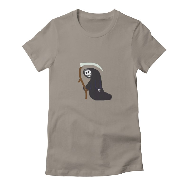 Reaper Apparel & Accessories Women's Fitted T-Shirt by 2tokens's Artist Shop