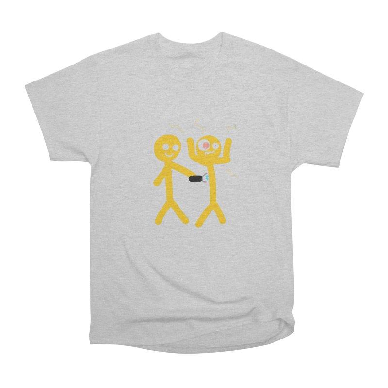 Taser Apparel & Accessories Men's Heavyweight T-Shirt by 2tokens's Artist Shop