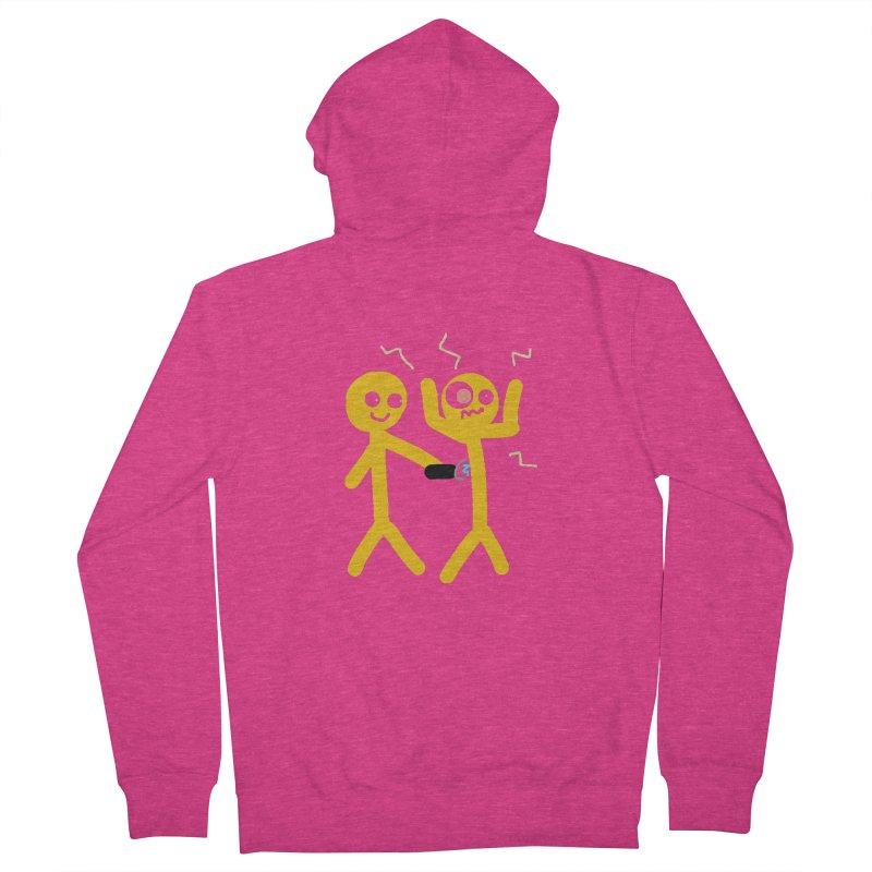 Taser Apparel & Accessories Women's French Terry Zip-Up Hoody by 2tokens's Artist Shop