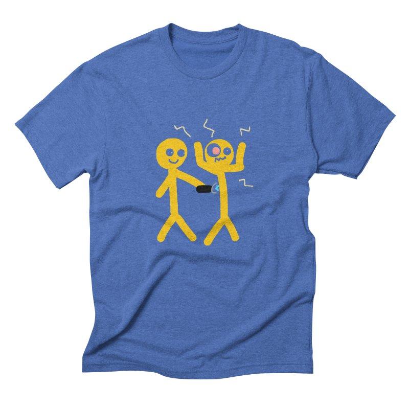 Taser Apparel & Accessories Men's Triblend T-Shirt by 2tokens's Artist Shop