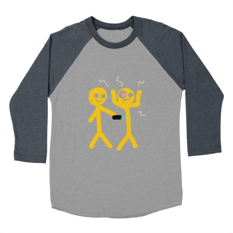 Taser Apparel & Accessories Men's Baseball Triblend Longsleeve T-Shirt by 2tokens's Artist Shop