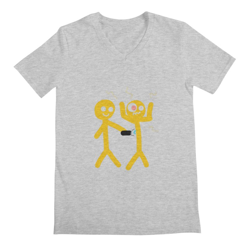 Taser Apparel & Accessories Men's Regular V-Neck by 2tokens's Artist Shop