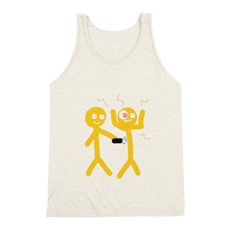 Taser Apparel & Accessories Men's Triblend Tank by 2tokens's Artist Shop