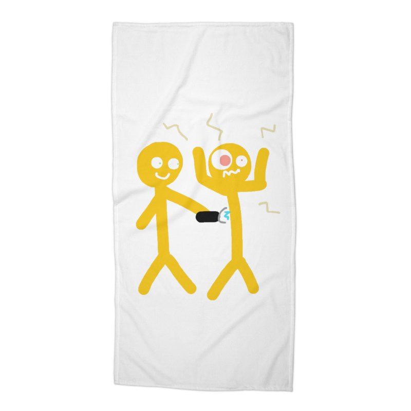 Taser Apparel & Accessories Accessories Beach Towel by 2tokens's Artist Shop