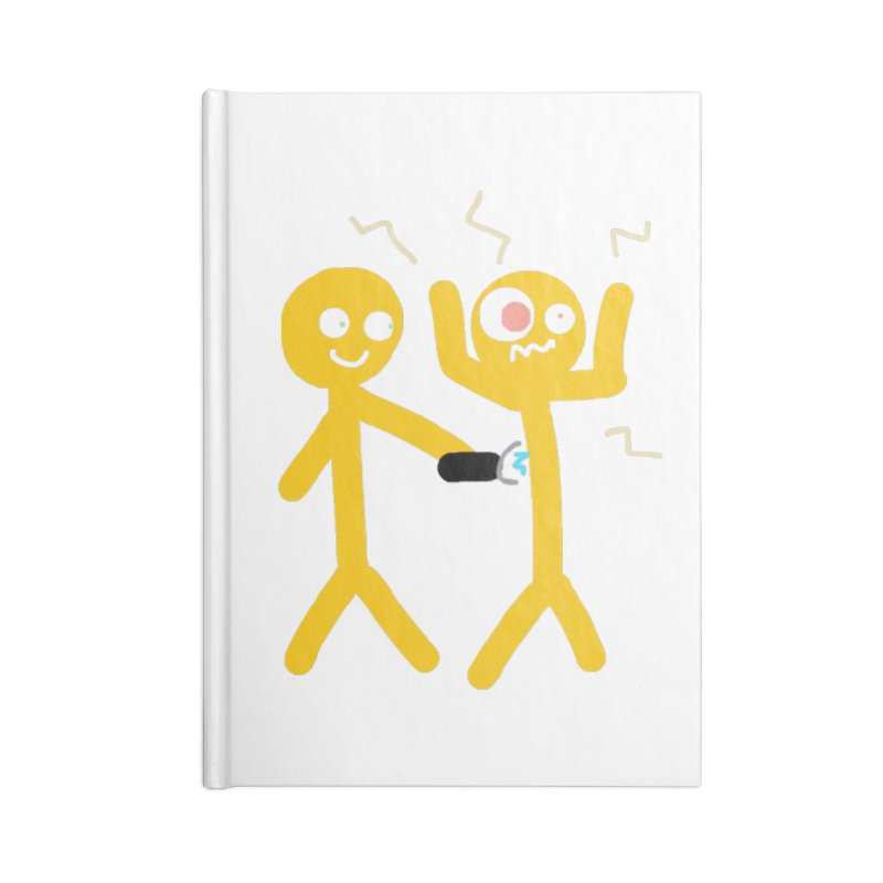 Taser Apparel & Accessories Accessories Lined Journal Notebook by 2tokens's Artist Shop