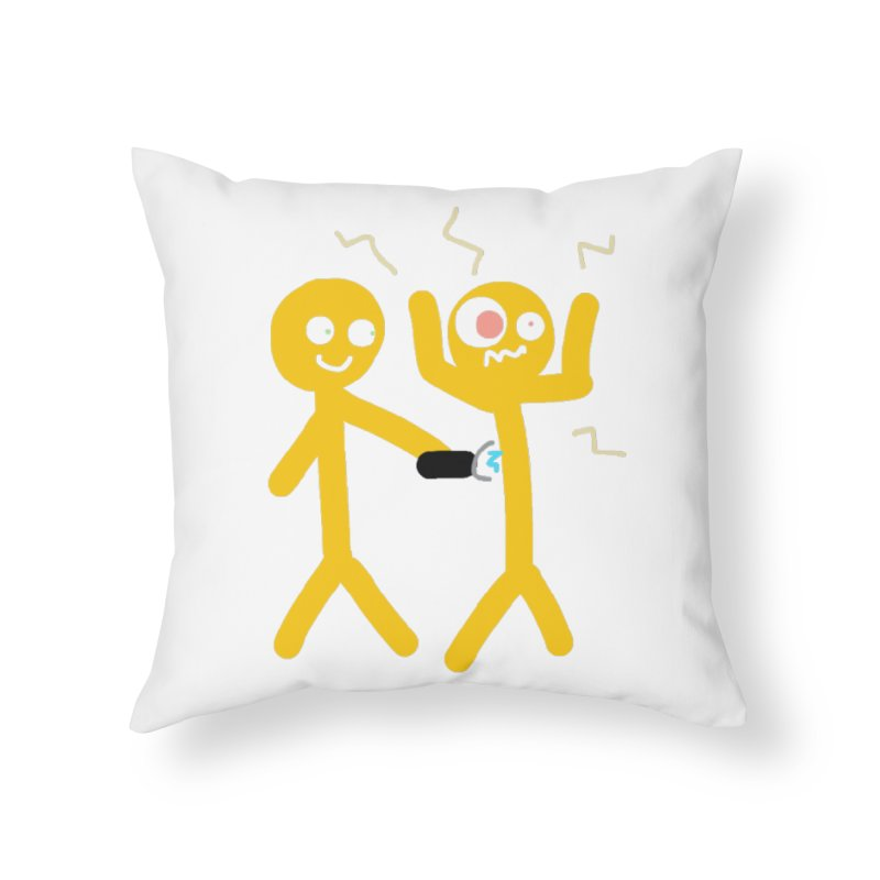 Taser Apparel & Accessories Home Throw Pillow by 2tokens's Artist Shop