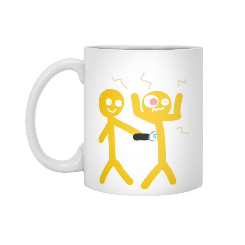 taser mug Accessories Standard Mug by 2tokens's Artist Shop
