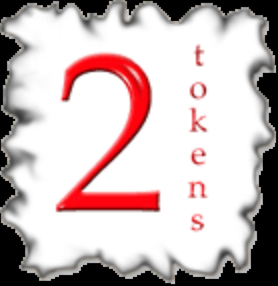 2tokens's Artist Shop Logo