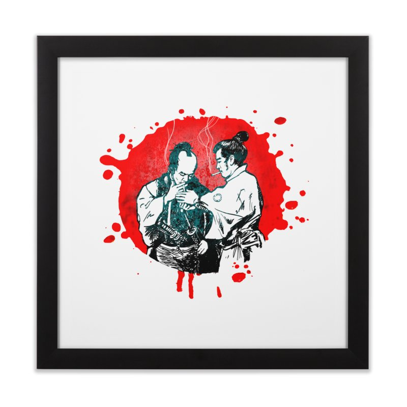 TIME OUT Home Framed Fine Art Print by 2wetgirls shirtshop