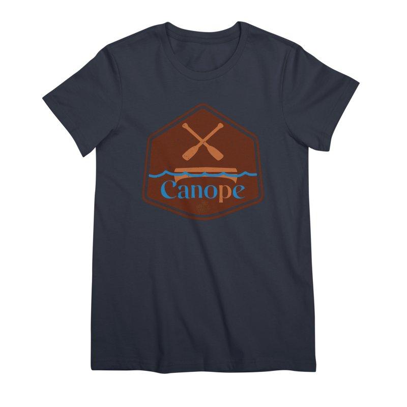 Canope (Buddies) Women's Premium T-Shirt by 33% Pulp's Merch-Tastic Funzone