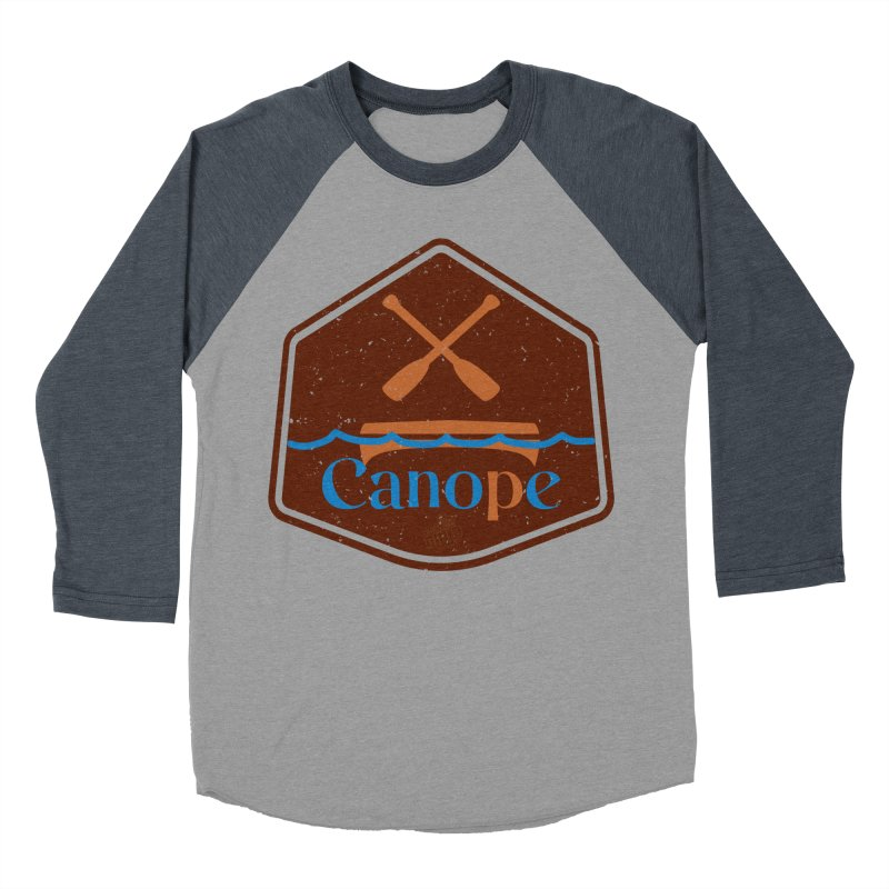 Canope (Buddies) Men's Baseball Triblend Longsleeve T-Shirt by 33% Pulp's Merch-Tastic Funzone