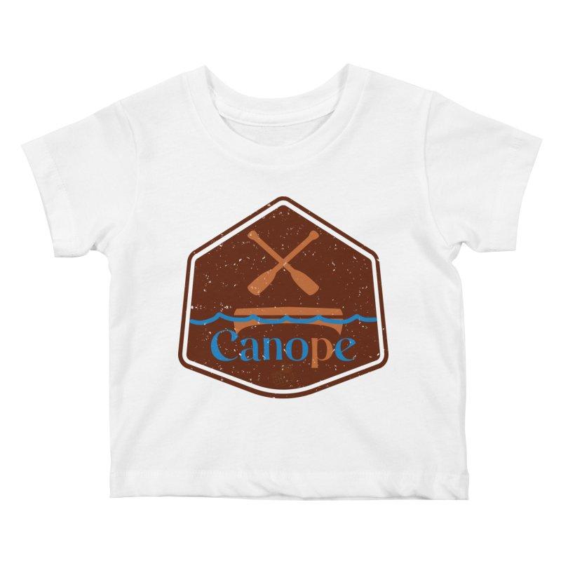 Canope (Buddies) Kids Baby T-Shirt by 33% Pulp's Merch-Tastic Funzone