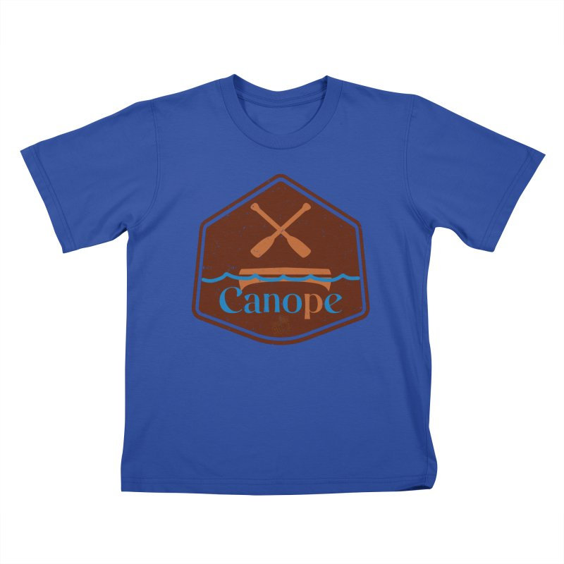 Canope (Buddies) Kids T-Shirt by 33% Pulp's Merch-Tastic Funzone