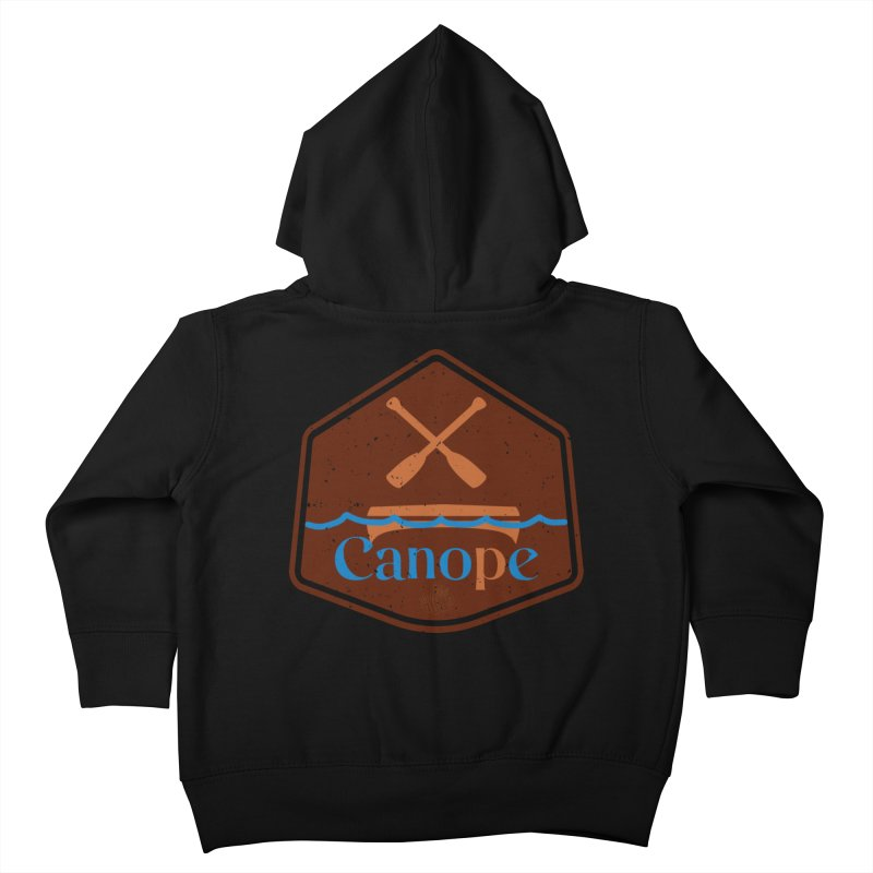 Canope (Buddies) Kids Toddler Zip-Up Hoody by 33% Pulp's Merch-Tastic Funzone