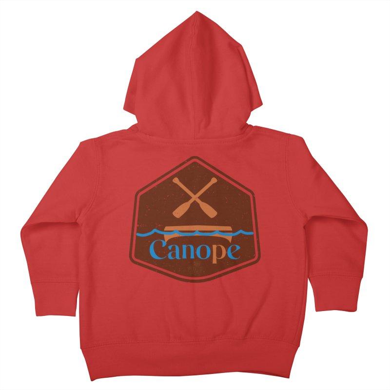 Canope (Buddies) Kids Toddler Zip-Up Hoody by 33% Pulp's Merch-Tastic Funzone