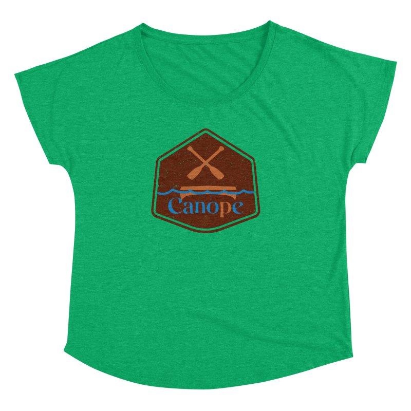 Canope (Buddies) Women's Dolman Scoop Neck by 33% Pulp's Merch-Tastic Funzone