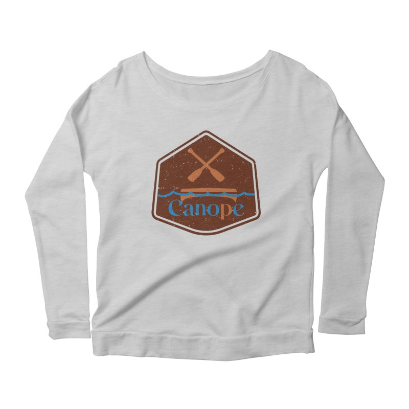 Canope (Buddies) Women's Scoop Neck Longsleeve T-Shirt by 33% Pulp's Merch-Tastic Funzone