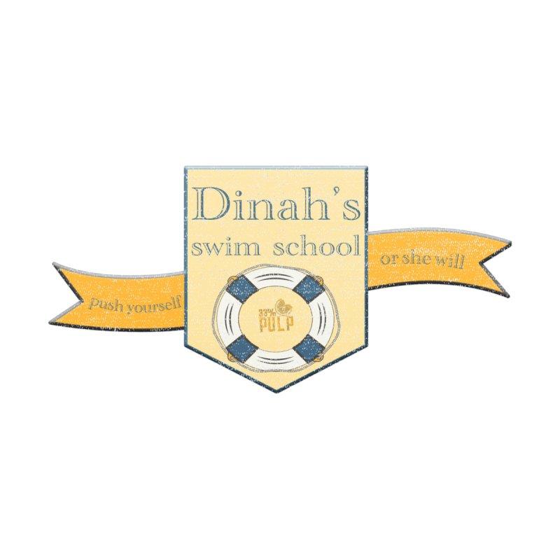 Dinah's Swim School (Buddies) Women's Tank by 33% Pulp's Merch-Tastic Funzone