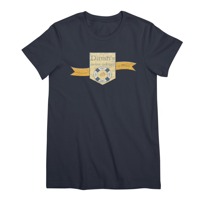 Dinah's Swim School (Buddies) Women's Premium T-Shirt by 33% Pulp's Merch-Tastic Funzone