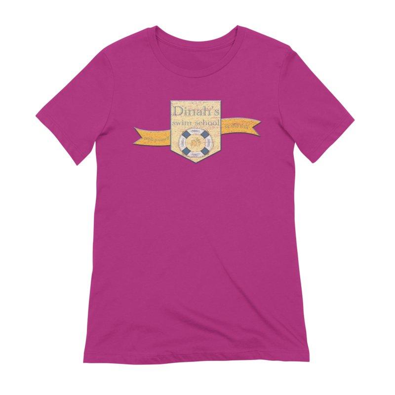 Dinah's Swim School (Buddies) Women's Extra Soft T-Shirt by 33% Pulp's Merch-Tastic Funzone