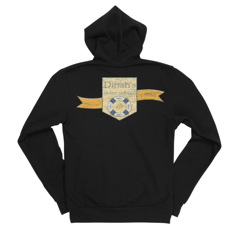 Dinah's Swim School (Buddies) Men's Sponge Fleece Zip-Up Hoody by 33% Pulp's Merch-Tastic Funzone