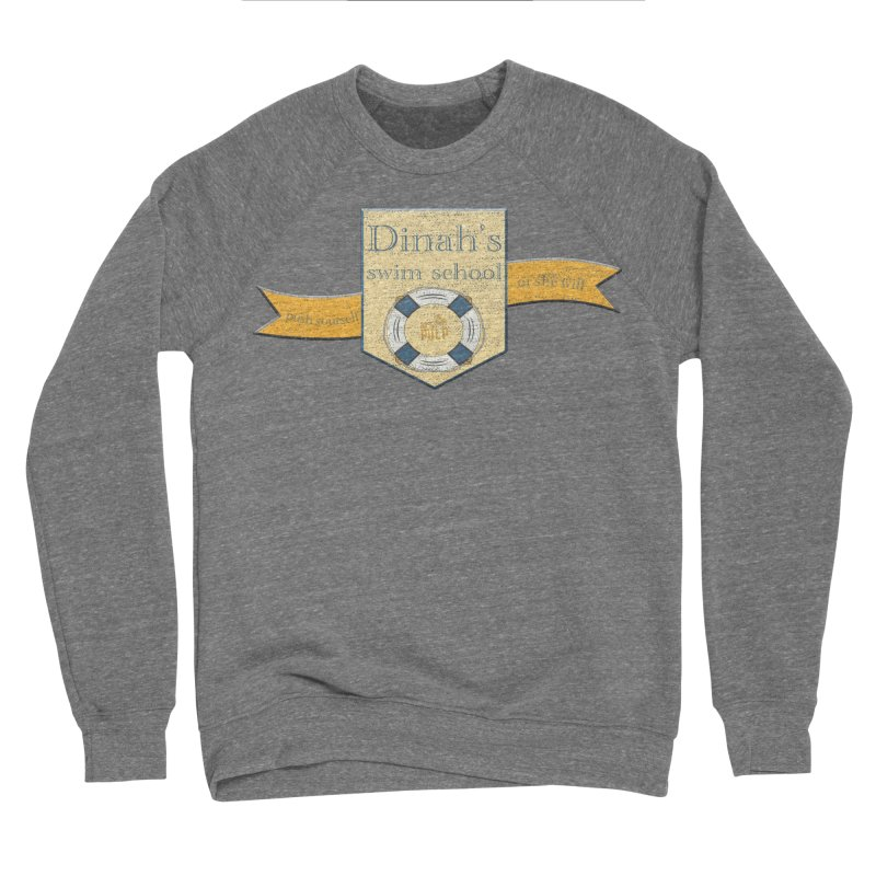 Dinah's Swim School (Buddies) Women's Sponge Fleece Sweatshirt by 33% Pulp's Merch-Tastic Funzone
