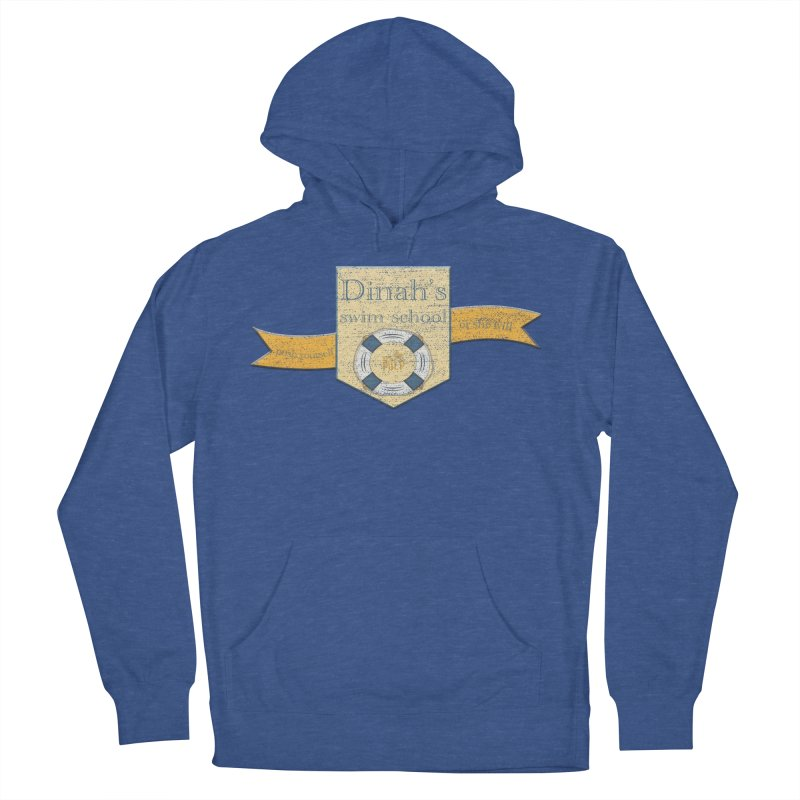 Dinah's Swim School (Buddies) Women's French Terry Pullover Hoody by 33% Pulp's Merch-Tastic Funzone