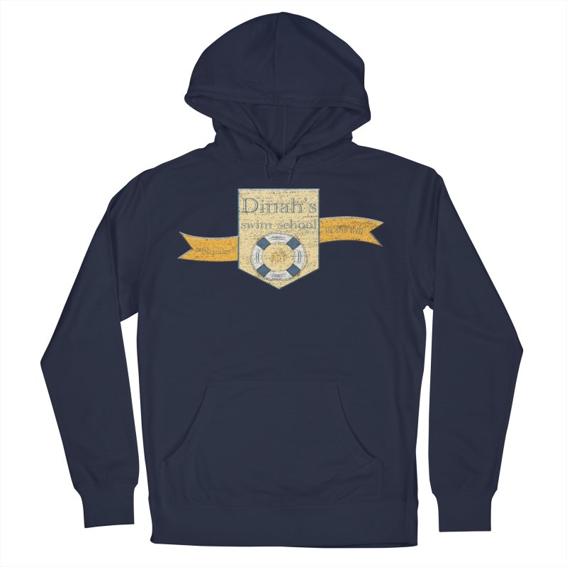 Dinah's Swim School (Buddies) Men's French Terry Pullover Hoody by 33% Pulp's Merch-Tastic Funzone