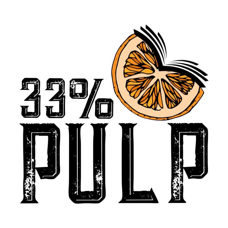33% Pulp Logo Men's T-Shirt by 33% Pulp's Merch-Tastic Funzone