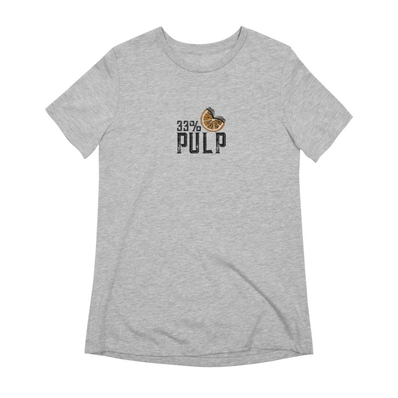 33% Pulp Logo Women's Extra Soft T-Shirt by 33% Pulp's Merch-Tastic Funzone