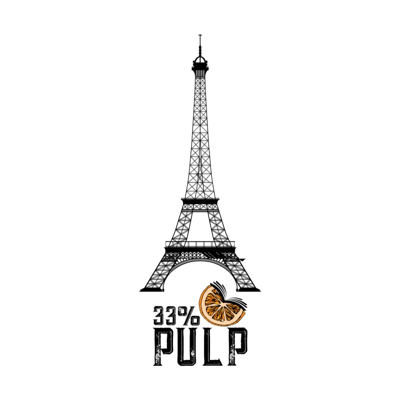 Eiffel Tower (The Pleasure Tube) Men's T-Shirt by 33% Pulp's Merch-Tastic Funzone