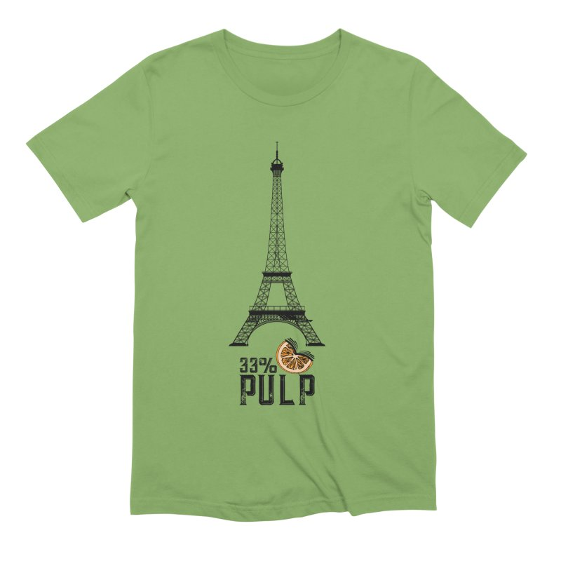 Eiffel Tower (The Pleasure Tube) Men's Extra Soft T-Shirt by 33% Pulp's Merch-Tastic Funzone