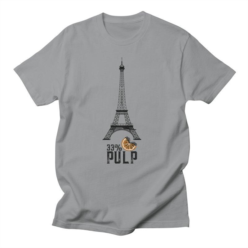 Eiffel Tower (The Pleasure Tube) Women's Regular Unisex T-Shirt by 33% Pulp's Merch-Tastic Funzone
