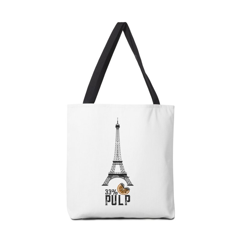 Eiffel Tower (The Pleasure Tube) Accessories Tote Bag Bag by 33% Pulp's Merch-Tastic Funzone